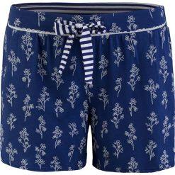 Piżamy damskie: Szorty piżamowe w kolorze niebieskim