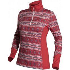 Swix Damska Bluza Myrene Polo, Czerwona, S. Czerwone bluzy sportowe damskie Swix, m. W wyprzedaży za 199,00 zł.
