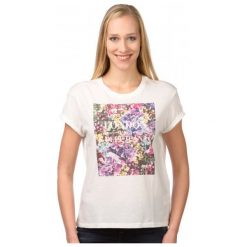 Pepe Jeans T-Shirt Damski Brenda M Kremowy. Białe t-shirty damskie marki Pepe Jeans, m, z jeansu. W wyprzedaży za 108,00 zł.