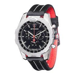 """Zegarki męskie: Zegarek """"DT-YG101-D"""" w kolorze czarno-czerwono-srebrnym"""