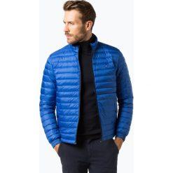 Tommy Hilfiger - Męska kurtka puchowa, niebieski. Szare kurtki męskie pikowane marki TOMMY HILFIGER, z bawełny. Za 799,95 zł.