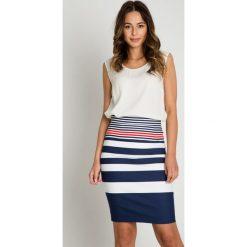 Spódniczki ołówkowe: Oryginalna kolorowa ołówkowa spódnica BIALCON