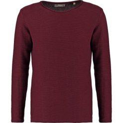 Swetry klasyczne męskie: Solid JARAH Sweter port roy