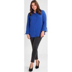 Koszule wiązane damskie: Evans EYELET Koszula blue