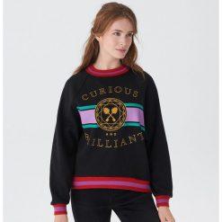 Bluza Disney - Czarny. Czarne bluzy rozpinane damskie House, l, z motywem z bajki. Za 99,99 zł.