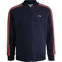 Bluzy chłopięce: Lacoste Bluza rozpinana navy blue/silver chine/watermelon