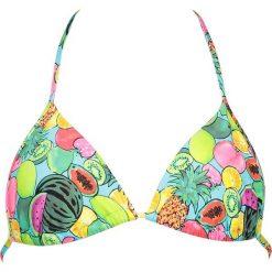 """Biustonosz bikini """"Juicy"""" z kolorowym wzorem. Szare bikini marki Esprit. W wyprzedaży za 25,95 zł."""