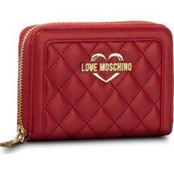 Portfele damskie: Duży Portfel Damski LOVE MOSCHINO – JC5509PP15LB0500 Rosso