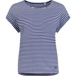 Piżamy damskie: Koszulka piżamowa w kolorze niebieskim