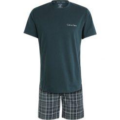 Piżamy męskie: Calvin Klein Underwear SHORT CREW SET Piżama green