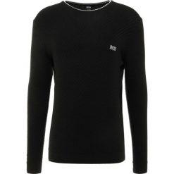 BOSS ATHLEISURE RIDNEY  Sweter black. Niebieskie swetry klasyczne męskie marki BOSS Athleisure, m. Za 539,00 zł.