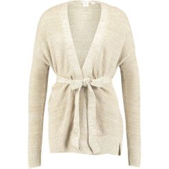 Kardigany damskie: GAP BELTED WRAP  Kardigan oatmeal heather