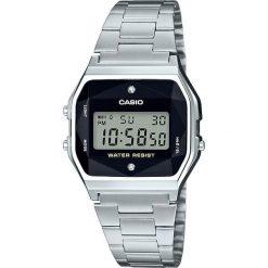 Zegarek Casio Damski Retro Diamond Limited A158WEAD-1EF srebrny. Szare zegarki damskie CASIO, srebrne. Za 237,99 zł.