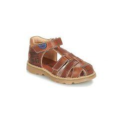 Sandały Dziecko  GBB  PINO. Brązowe sandały chłopięce GBB. Za 223,20 zł.