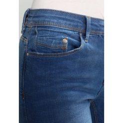 ONLY CARMEN Jeans Skinny Fit medium blue. Niebieskie rurki damskie ONLY. Za 229,00 zł.