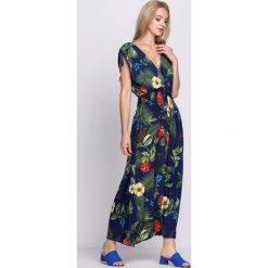 Sukienki: Granatowa Sukienka Exotic Heart