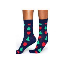 Skarpetki Happy Socks  FRU01-6001. Szare skarpetki męskie Happy Socks, z bawełny. Za 24,43 zł.