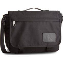 Torba na laptopa CALVIN KLEIN JEANS - Sport Essential Messenger K40K400155 910. Czarne torby na laptopa marki Calvin Klein Jeans, z jeansu. W wyprzedaży za 349,00 zł.
