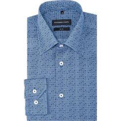 Koszula SIMONE slim KDNS000306. Białe koszule męskie na spinki marki bonprix, z klasycznym kołnierzykiem. Za 229,00 zł.
