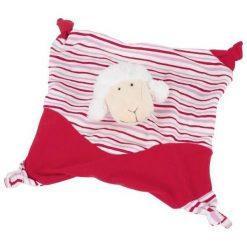 Szmatka przytulanka dla dziecka czerwona owieczka. Czerwone przytulanki i maskotki marki Goki. Za 30,49 zł.