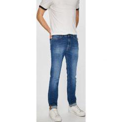 Lee - Jeansy Rider. Niebieskie jeansy męskie slim marki Lee. Za 329,90 zł.