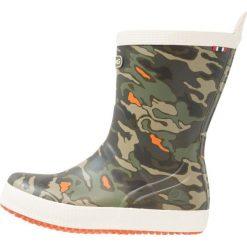 Viking SEILAS  Kalosze green/multicolor. Zielone buty zimowe damskie Viking, z kauczuku. W wyprzedaży za 153,30 zł.