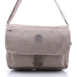 Torba męska Bag Street na ramię - super jakość. Szare torby na ramię męskie marki Bag Street, w paski, na ramię, duże. Za 69,00 zł.