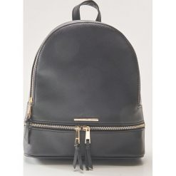 Plecak - Czarny. Czarne plecaki damskie House. Za 79,99 zł.