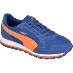 Buciki niemowlęce: Puma Buty dziecięce ST Runner NL Jr niebiesko-pomarańczowe r. 28 1/2  (35877008)