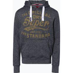 Superdry - Męska bluza nierozpinana, niebieski. Niebieskie bluzy męskie Superdry, m. Za 249,95 zł.