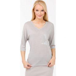 Swetry klasyczne damskie: Sweter w stylu casual