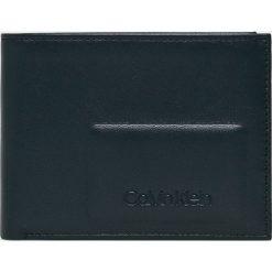Calvin Klein - Portfel skórzany. Czarne portfele męskie Calvin Klein, z materiału. Za 269,90 zł.