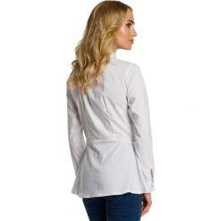 ELAINE Koszula odcinana w talii - biała. Białe koszule damskie Moe, eleganckie. Za 119,00 zł.