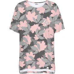 Colour Pleasure Koszulka damska CP-033 257 szaro-różowa r. uniwersalny. Fioletowe bluzki damskie marki Colour pleasure, uniwersalny. Za 76,57 zł.
