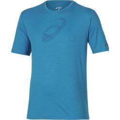 Asics Koszulka SS Graphic Top niebieska r. L (121652 0823). Niebieskie koszulki sportowe męskie marki Asics, l. Za 51,40 zł.