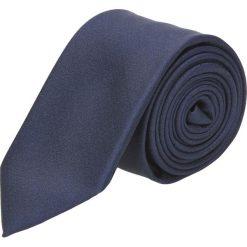 Krawaty męskie: krawat platinum granatowy classic 237