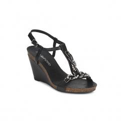 Sandały Moda In Pelle  PILATE. Czarne sandały damskie marki Moda In Pelle. Za 255,20 zł.