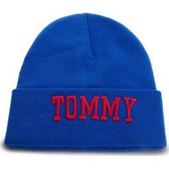 Czapka TOMMY JEANS - Tjw Varsity Beanie AW0AW05987 435. Niebieskie czapki zimowe damskie Tommy Jeans, z bawełny. Za 229,00 zł.