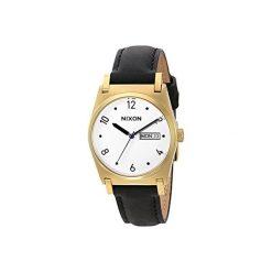 Zegarki damskie: Zegarek damski Gold Black Jane Leather Nixon A9551513