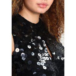 Sukienki hiszpanki: Lost Ink Plus PREMIUM MINI DRESS IN GEO SEQUINS Sukienka koktajlowa black
