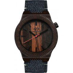 Zegarek Giacomo Design Drewniany męski GD08603. Czarne zegarki męskie Giacomo Design. Za 385,00 zł.