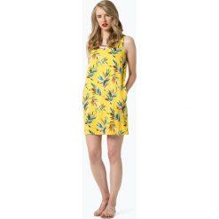Pepe Jeans - Sukienka damska – Vega, żółty. Żółte sukienki sportowe marki Pepe Jeans, l, w kwiaty, z jeansu, sportowe. Za 279,95 zł.