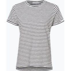 Marie Lund - T-shirt damski, czarny. Czarne t-shirty damskie Marie Lund, xl, w paski. Za 59,95 zł.