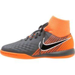 Nike Performance JR OBRAX 2 ACADEMY DF IC Halówki dark grey/black/total orange/white. Czarne halówki męskie Nike Performance, z materiału. W wyprzedaży za 195,30 zł.