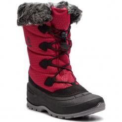 Śniegowce KAMIK - Momentum2 NK2178 Red. Czerwone buty zimowe damskie Kamik, z materiału. W wyprzedaży za 289,00 zł.