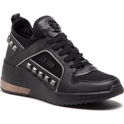 Sneakersy GUESS - FL5JUL FAB12 BLACK. Niebieskie sneakersy damskie marki Guess, z materiału. Za 629,00 zł.