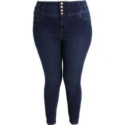 New Look Curves HIG WAIST KARL RINSE Jeans Skinny Fit indigo. Niebieskie rurki damskie New Look Curves. W wyprzedaży za 134,10 zł.