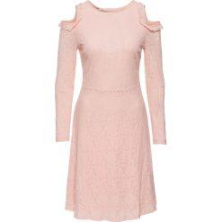 Sukienki: Sukienka koronkowa bonprix bladoróżowy