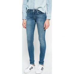 Pepe Jeans - Jeansy. Niebieskie jeansy damskie Pepe Jeans, z bawełny. W wyprzedaży za 279,90 zł.