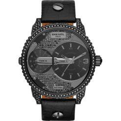 Zegarek DIESEL - Mini Daddy DZ7328  Black/Gunmetal. Czarne zegarki męskie Diesel. Za 1309,00 zł.
